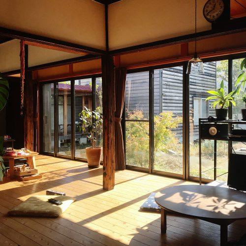 日当たりのいい居間