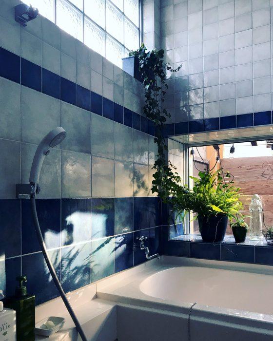 ハーフユニットの浴室