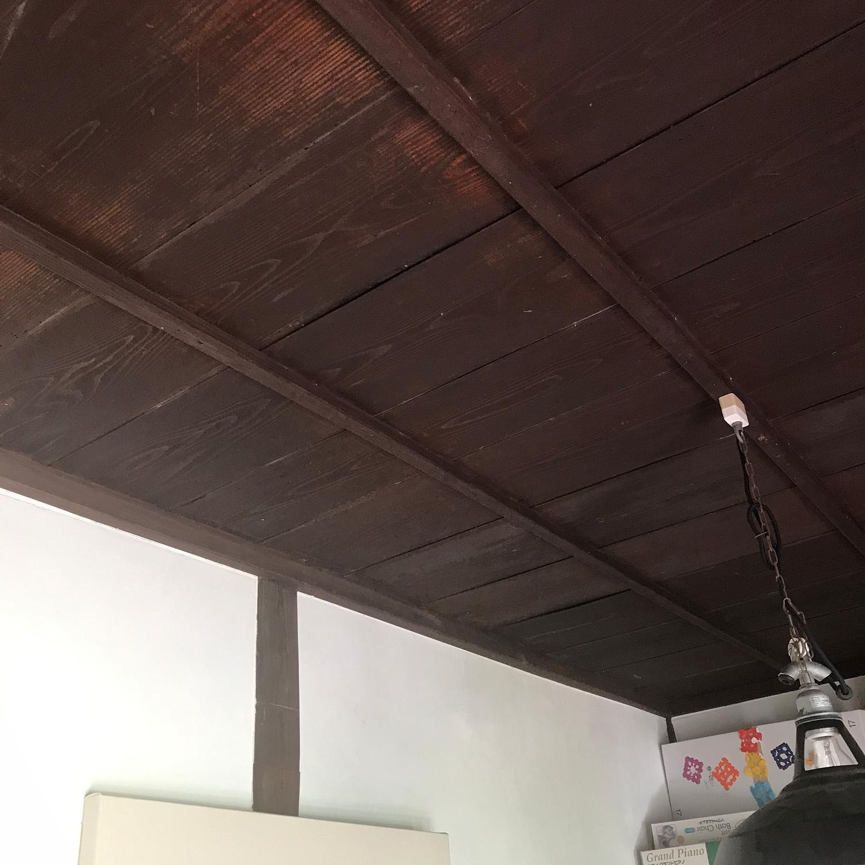 キッズスペースの天井