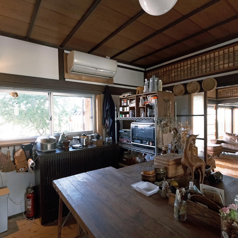 古民家のキッチン