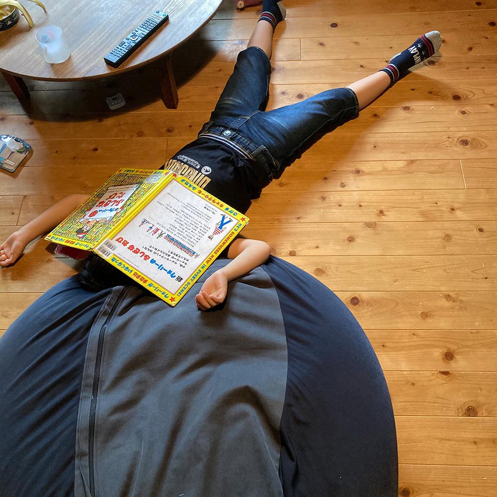 床で寝落ち